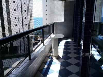 Apartamento À Venda Na Praia Das Astúrias Frente Ao Mar - A953mll