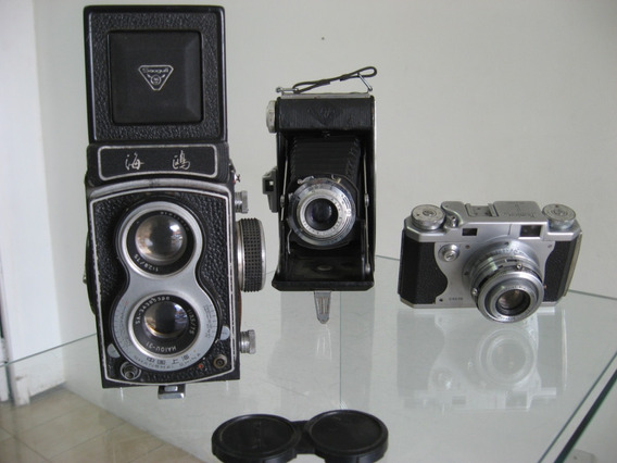 Câmeras Fotográficas Analógicas Antigas