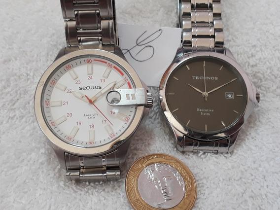 Relógios Masculinos Technos E Seculus (2) !