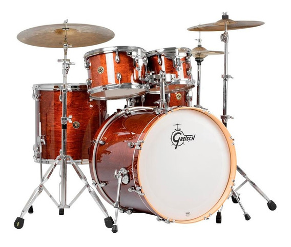 Bateria Gretsch Maple Catalina Cm1e825 Wg Shell Pack Oferta!