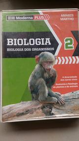 Box Biologia Biologia Dos Organismos Moderna Plus 2°ano