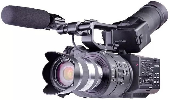 Filmadora Sony Nex Fs700u 4k Super 35 Lente Sony 18-200m #