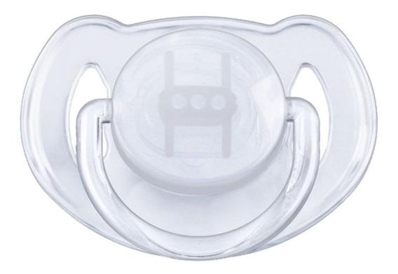 Chupon Clasico Para Ortodoncia Transparente Avent Philips