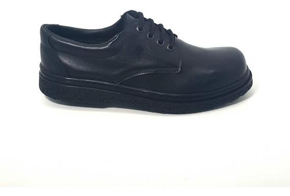 Zapatos De Cuero Goma Febo Cosidos Tipo Mango