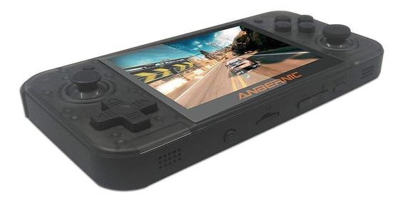 Console Anbernic RG350 16GB preto-transparente