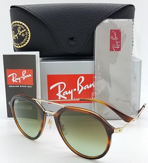 Oculos De Sol Ray Ban Feminino Masculino Rb4253 Tartaruga