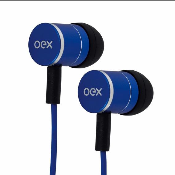 Fone De Ouvido Fleet Oex Azul