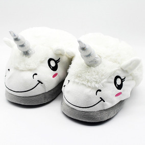 Pantuflas Unicornio(pijama,mameluco,kawaii,kigurumi,zapatos)