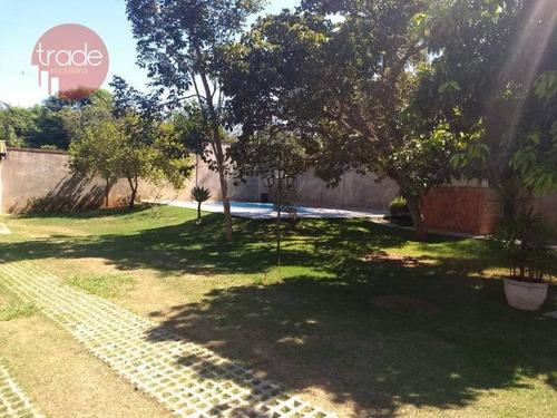 Chácara Com 3 Dormitórios À Venda, 1000 M² Por R$ 640.000,00 - Condomínio Portal Dos Ipês - Ribeirão Preto/sp - Ch0080