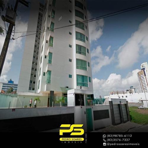 Apartamento Com 2 Dormitórios À Venda, 139 M² Por R$ 319.900 - Jardim Tavares - Campina Grande/pb - Ap3152