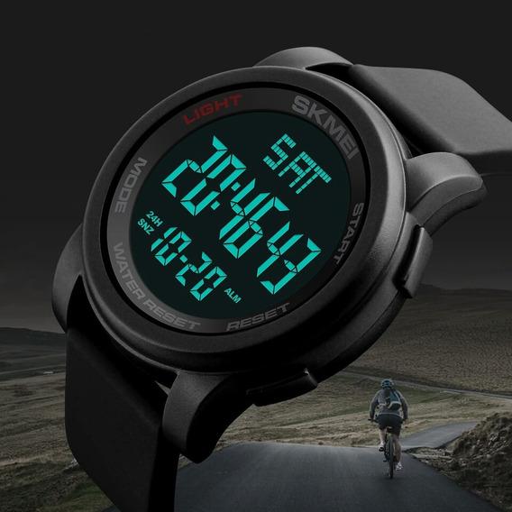 Relógio Masculino Esportivo Digital Led Skmei 1257 Silicone