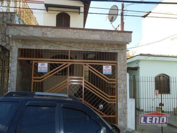 Sobrado Residencial Para Locação, Penha De França, São Paulo. - So0224