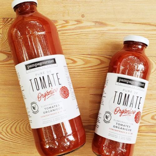 Pure De Tomate Orgánico Sin Taac X 500cc