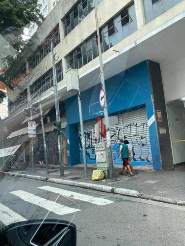 Galpão Para Alugar, 1600 M² Por R$ 56.000,03/mês - Santa Cecília - São Paulo/sp - Ga0036