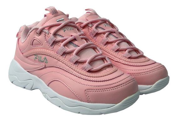 Tenis Fila Mujer Rosa Ray 5rm00782669