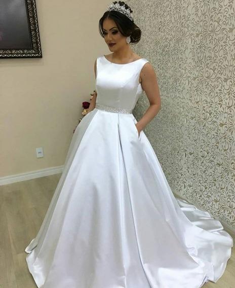Vestido Noiva Luxo Sob Medidas