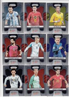 Cards Prizm Da Copa De 2018 - Completo
