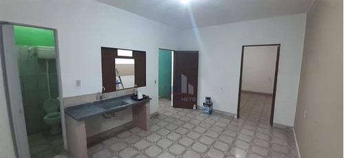 Imagem 1 de 4 de Casa Com 1 Dormitório Para Alugar Por R$ 580,00/mês - Chácara Maria Aparecida - Mauá/sp - Ca0474