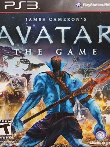 Avatar The Game Ps3 Mídia Física , A Pronta Entrega