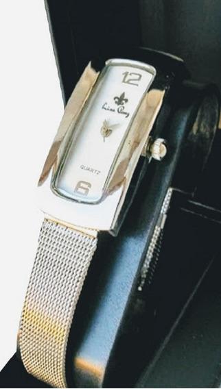 Kit Relógios Feminino Original Prateado Luxo C/4 Atacado