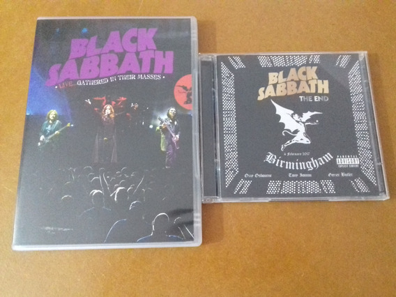 Cd + Dvd Black Sabbath - Live End Gathered In....ozzy