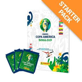 Álbum Capa Dura - Conmebol Copa América 2019 + 12 Envelopes