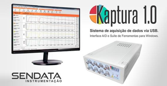 Kaptura - Interface Usb E Software Para Aquisição De Dados
