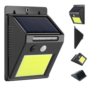 Reflector Solar 20 Led Con Sensor De Movimiento 10w