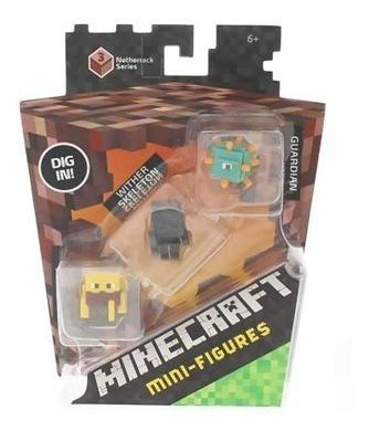 Minecraft 3 Mini Figuras.