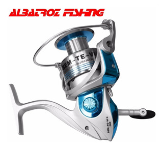 Molinete Pesca Albatroz Bem-te-vi - 6000 - Carretel Alumínio