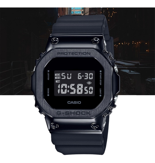 Relógio Casio G-shock Digital Gm-5600b-1dr Preto