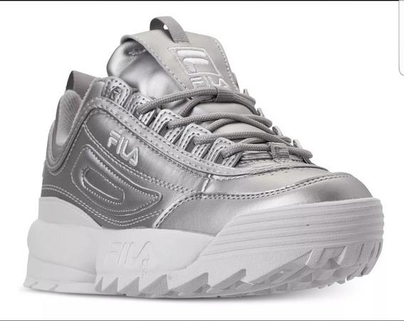 Zapatillas Fila Disruptor Ii Premium Silver