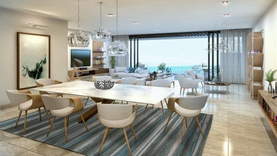Pent House En Venta Con Vista Al Mar, Ubicado En Lujosa Zona De Cancún, Mod. N-ph1 Allure