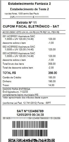 Código Fonte C# Sat Fiscal Nfc-e + Emulador Sat