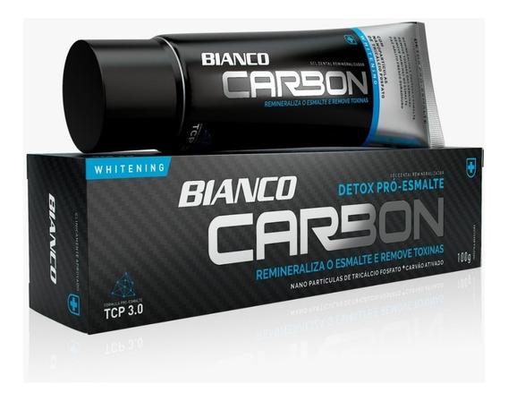 Pasta De Dente Carbon P/branqueamento - Carvão Ativado