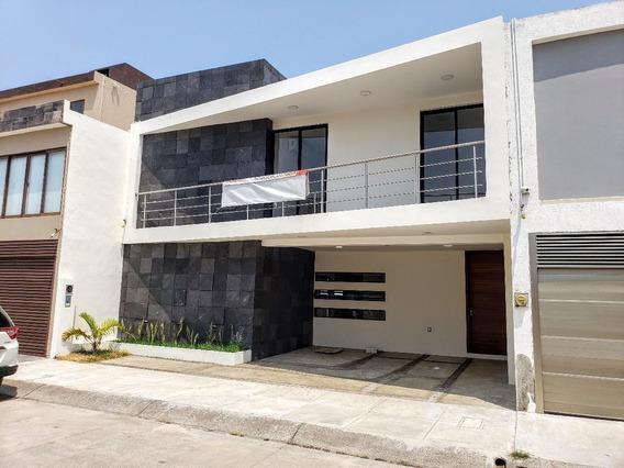 Casa En Venta 3 Hab, Doble Altura En Fracc Las Palmas. Boca Del Rio, Ver.