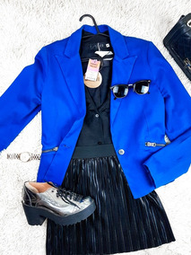 Blazer In Blue