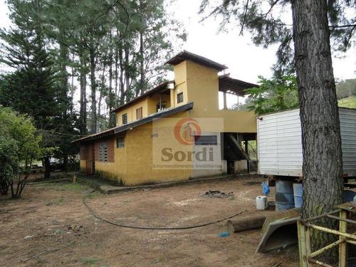 Sítio À Venda, 6,5 Alqueires Por R$ 800.000 - Zona Rural - Serrana/sp - Si0067