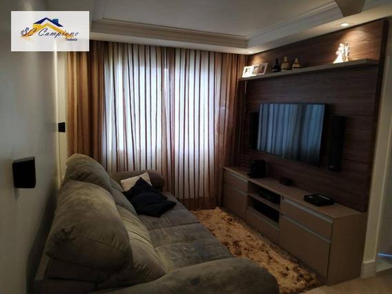 Apartamento Com 2 Dormitórios À Venda, 51 M² Por R$ 300.000,00 - Vila Irmãos Arnoni - São Paulo/sp - Ap2517