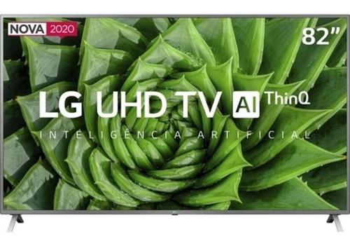 Smart Tv Led Uhd 4k Hdr 82 LG Thinq Ai 82un8000 Prata Bivolt