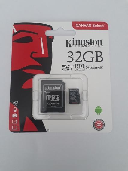 Cartão De Memória 32gb Kingston