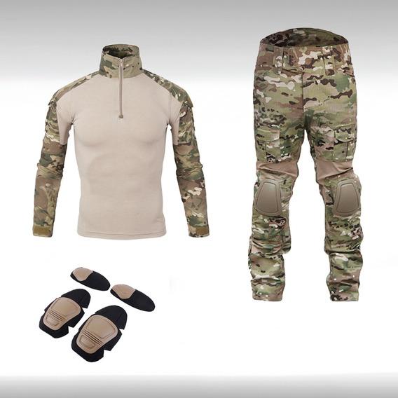 Uniforme Militar Tactica Camuflaje Gotcha Paintball Airsoft