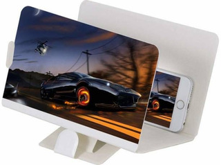 Capa Lupa Ampliadora Zoom 3d Tela De Celular