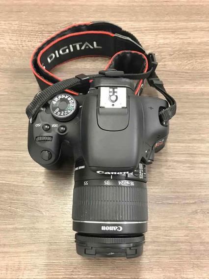 Câmera Cânon T3i - Lente 18-55mm + Bolsa/2 Cartões De 8 Gb