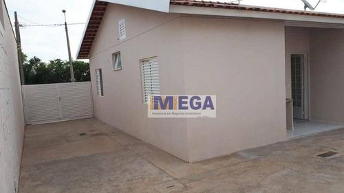 Imagem 1 de 8 de Casa Com 2 Dormitórios À Venda, 49 M² Por R$ 287.000,00 - Vila Inema - Hortolândia/sp - Ca2483