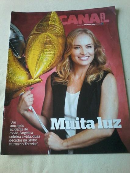 Revista Canal Extra Angelica Glória Menezes Aguinaldo Silva