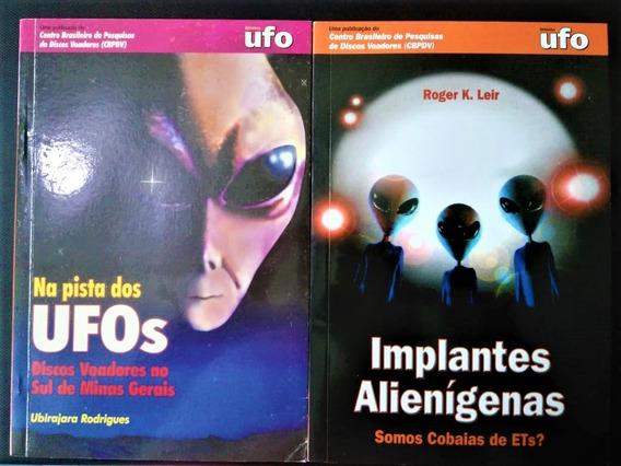 7 Livros De Ufologia De Vários Autores (seminovos) (raros)