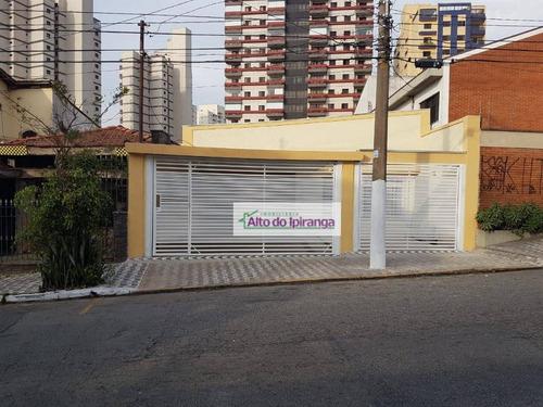 Casa Com 4 Dormitórios À Venda, 227 M² Por R$ 1.180.000,00 - Jardim Da Saúde - São Paulo/sp - Ca0226