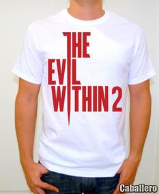 The Evil Within 2 Playera Gamer Title Sublimada Alta Calidad