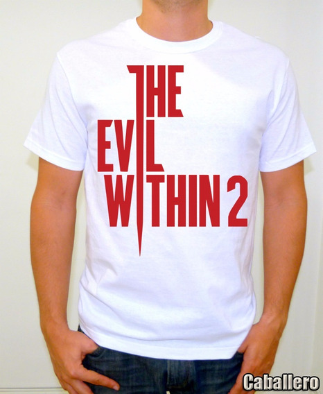 The Evil Within 2 Playera Gamer Title Sublimada Alta Calidad